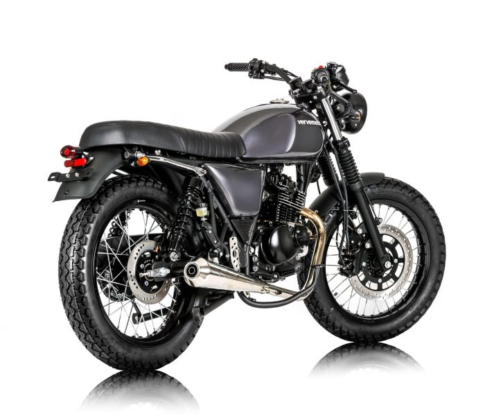 Verve Moto - New Classic 125i - London Grey 1