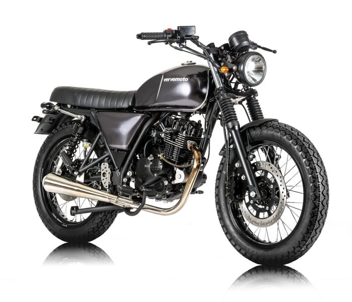 Verve Moto - New Classic 125i - London Grey 2