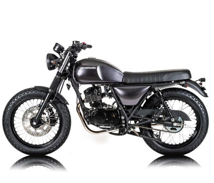 Verve Moto - New Classic 125i - London Grey 3 copy