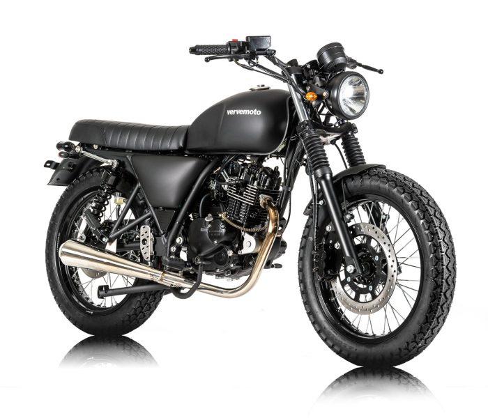Verve Moto - New Classic 125i - Matte Black 2