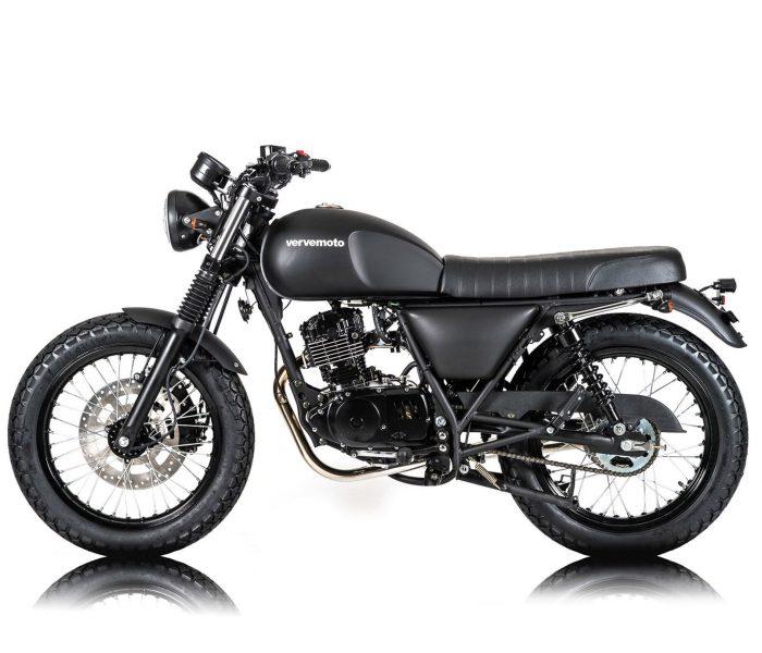 Verve Moto - New Classic 125i - Matte Black 3 copy