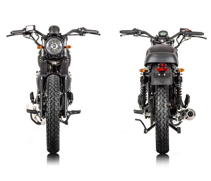 Verve Moto - New Classic 125i - Matte Black 4