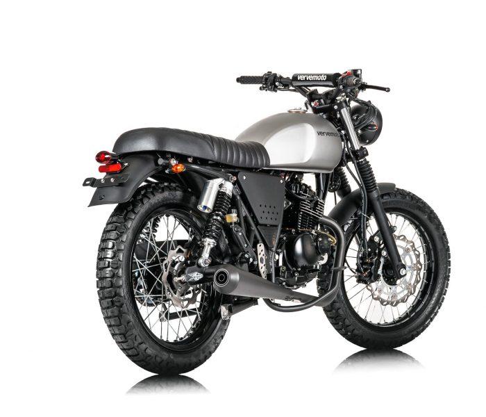 Verve Moto - Scrambler 125i - Matte Grey 1