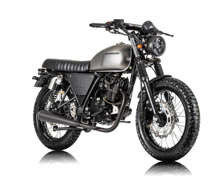 Verve Moto - Scrambler 125i - Matte Grey 2