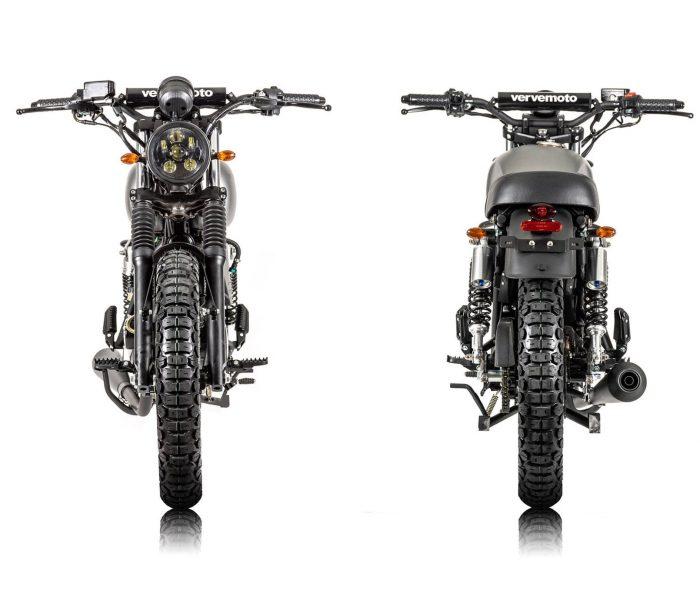 Verve Moto - Scrambler 125i - Matte Grey 4