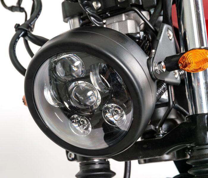 Verve Moto - Scrambler 125i - Particolari 2