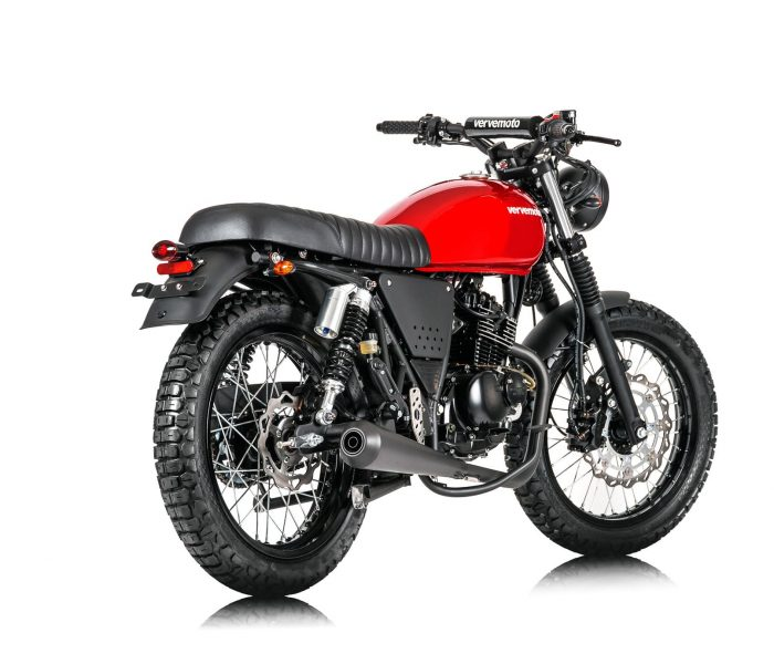 Verve Moto - Scrambler 125i - Red Hot 1