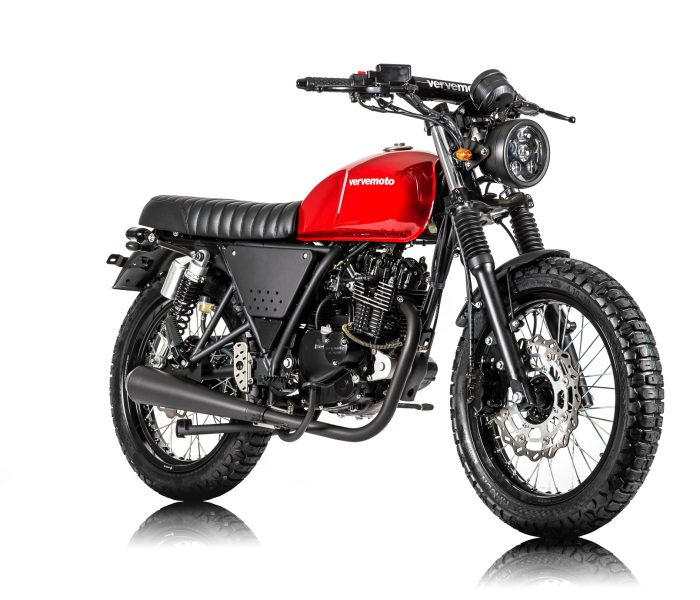 Verve Moto - Scrambler 125i - Red Hot 2